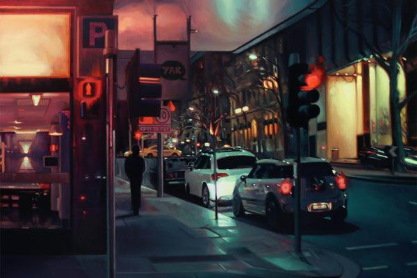 Midnight Flinders Lane