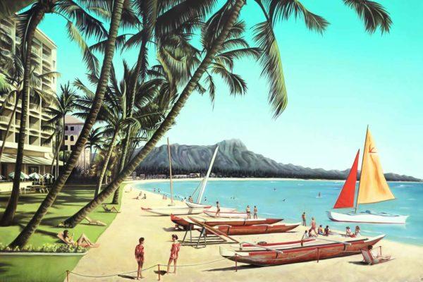 Hawaiian Honeymoon.